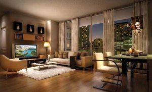 Ilustrasi Interior Apartemen