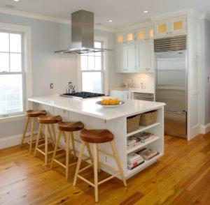 Ilustrasi dapur sempit