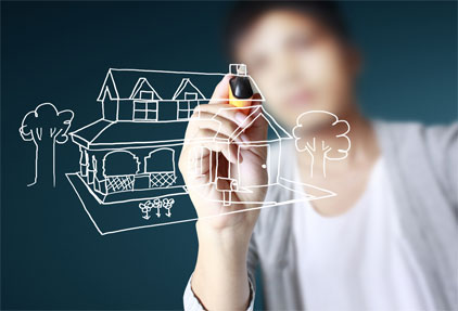 ilustrasi pengembang properti