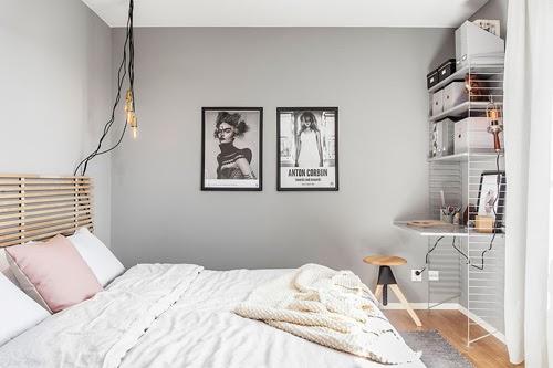 kamar tidur pastel