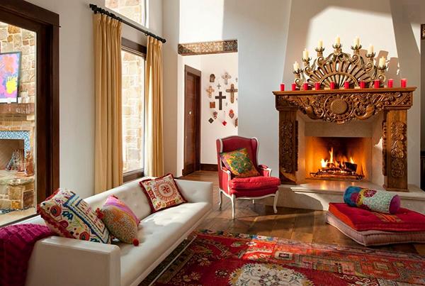 Inspirasi desain interior bohemian untuk hadirkan Bohemian style fashion blogs