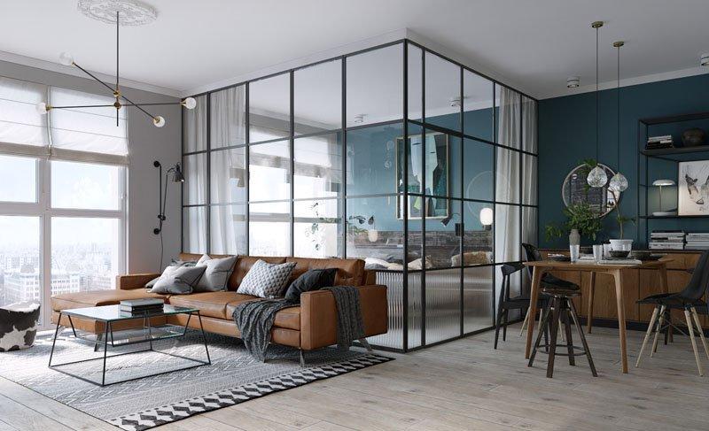 apartemen kaca