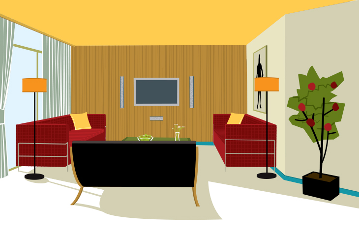 apartemen ilustrasi