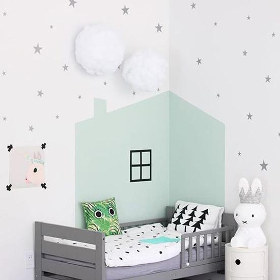 plihan warna cantik untuk tampilan kamar anak lebih