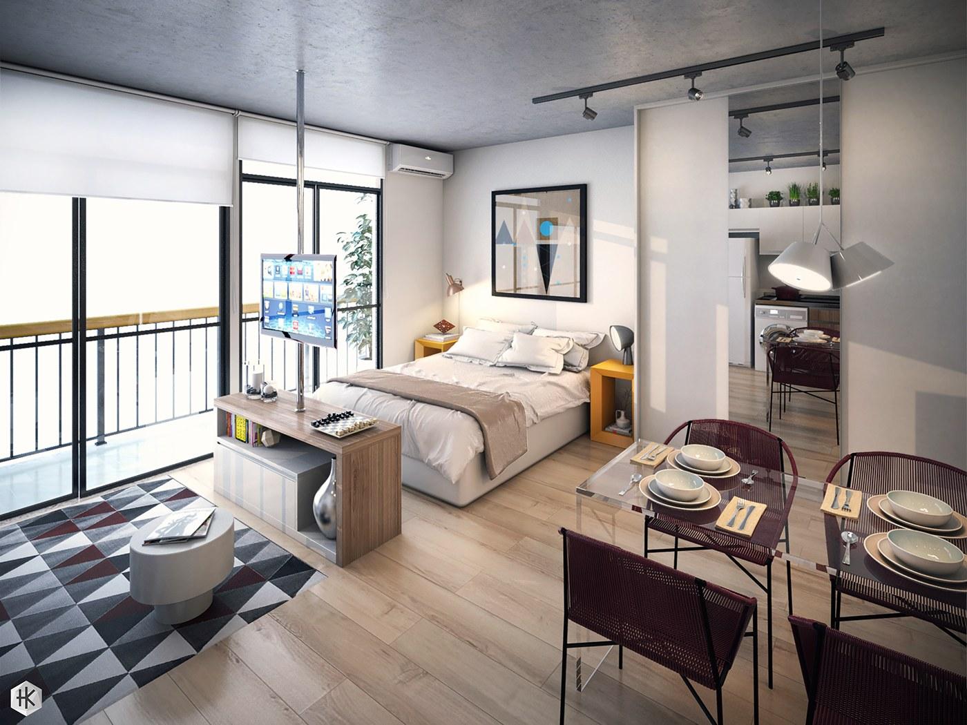 studio apartemen