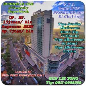 Apartemen Sudirman One Tangcity