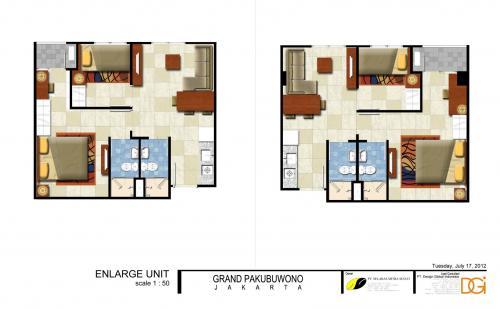 Jual Apartemen Di Pakubuwono Residence Murah