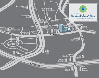 Kota Kasablanka Mall Ala Maroko di Jakarta - lenterarumah.com