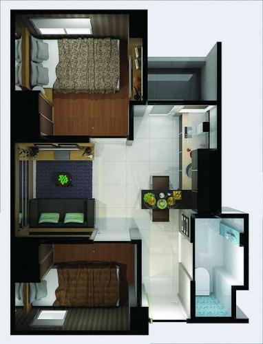 Apartemen Pancoran Riverside Dijual – Studio / 1 / 2 BR Unfurnished