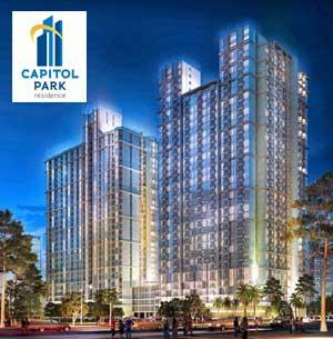 Capitol Park Residence Apartment For Sale In Salemba