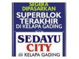 Sedayu City @Kelapa Gading