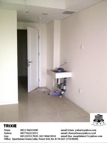 Jual Apartemen Green Lake Sunter - Studio Unfurnished