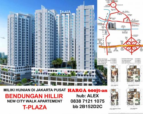 TPlaza Apartement Mall Bendungan Hilir