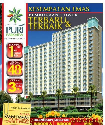 Jual Apartemen Puri Park View Pesanggrahan
