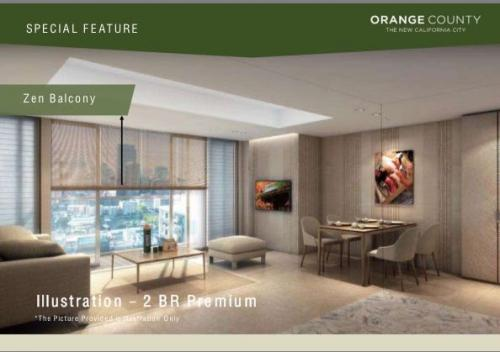 orange county apartment for sale at lippo cikarang bekasi