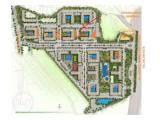 Map Green Pramuka City - Bougenville