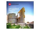 Harga perdana: Investasi apartemen di jalur stasiun LRT apartment superblock cikunir