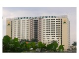Jual Cepat Apartemen Emerald Tower Bandung Studio 26 Menara Utara Lt. 12 Harga Miring Rp 185 jt