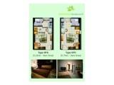 Dijual Apartemen Margonda Residence 4 Depok Harga Miring Rp 225 jt / unit (Unit Ready Lt.9 , ada 2 unit berdampingan) Akses melalui D Mall