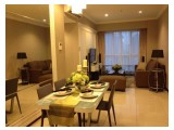 Dijual Cepat Apartemen Gandaria Heights - 3 + 1 BR - Luas 117m2 - Full Furnish - Kondisi Tersewa