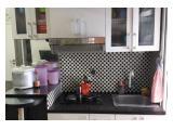 Jual Cepat Apartemen The Green Pramuka City - Full Furnished 2 BR Murah