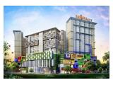 Dijual Apartemen Bassura City – 3 Bedrooms Unfurnished Harga Termurah