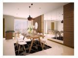 Apartemen Providence Park 3BR Furnished Lantai<20 Permata Hijau