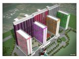 Jual Apartemen Sentra Timur Residence Jakarta Timur - 1 BR 30m2 Unfurnished
