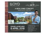 Western Condominium - LLOYD - New Project at Alam Sutera Tangerang - NUP Only Rp 5 Mio and Refundable !