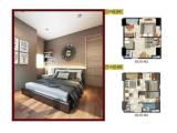 B Residence BSD - Apartment Near AEON Mall BSD & ICE - For Sale Over Kredit / BUTUH UANG (BU)