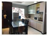 Jual Apartemen Sudirman Park - 3+1BR Furnished