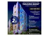Jual Apartemen TOD Tanjung Barat Jakarta Selatan - Studio 24 m2 Unfurnished