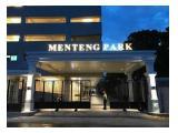 Disewakan Apartemen Menteng Park - STUDIO (Furnished)