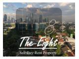 Dijual Apartemen District 8 @ SCBD – 2 BR 105 m2 - Barang Langka - Hadap Timur - Best View SCBD