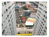 Jual Rugi Apartemen Green Pramuka City Jakarta Pusat - 2 BR 33m2 Unfurnished