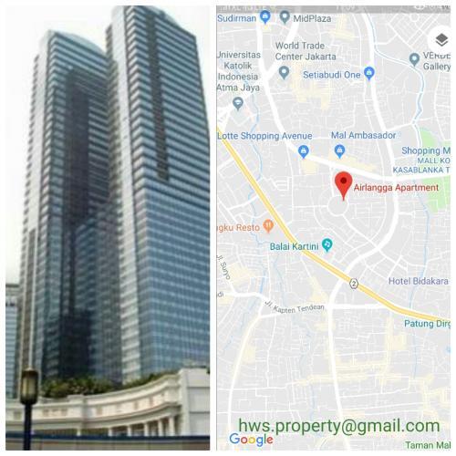 Central Park Apartments Jakarta: Airlangga Ritz Carlton Apartment For Rent / Sale