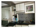 HOT Jual 2 kamar furnish Bassura City.  Perabot lengkap,  design menarik lantai parquet