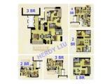 Dijual Murah Apartemen District 8 SCBD - 3 BR 228 m2 & 2 BR 105 m2 - Sangat Banyak Pilihan 1 / 2 / 3 / 4 BR / Office