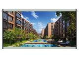 Dijual Low Rise Apartemen Lloyd Dengan 70% Green Space di Alam Sutera, Tangerang