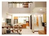 FOR SALE : Luxury Loft Apartment in Kemang Village Residance - Royal Suite / 3+1 BR / Fully Furnished