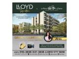 Lloyd Signature Tower. LIMITED UNITS! Luxurious Living Cuma 20 Juta/M2
