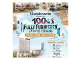 Di Jual Apartment Skandinavia - 2BR Furnished