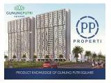Jual Apartemen Gunung Putri Square - Tower Pinus 1BR Unfurnished