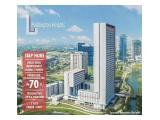 Jual Apartemen Paddington Heights Alam Sutera Tangerang – DP Rp 110 Juta, Siap Huni & Full Furnished 2BR+