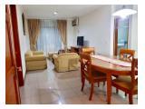 Dijual cepat, BU !!! Apartemen Pondok Klub Villa - 110 sqm 2BR Full Furnished