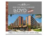 Dijual Apartemen Low Rise Lloyd Alam Sutera Bsd Serpong Tangerang - Dp 5% atau cicil 36x !