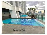 Best Price Unit Apartment Menteng Park Type Studio 28 sqm - Semi Furnished View Monas