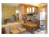 ruang tamu dan kitchen set