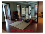 Pakubuwono Residence 4 bdr + 1 study room , low floor, tersewa
