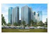 Jual Apartemen Casa Grande Residences Kota Kasablanka – 1 BR 48 m2 Furnished by Prasetyo Property